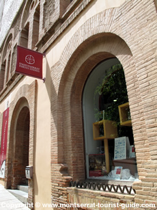 The book shop at Montserrat