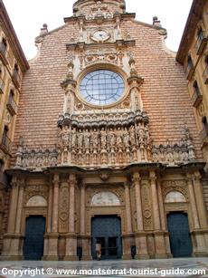 Montserrat Monastery in Catalonia Spain