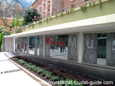 Entrance to the Museum in Montserrat