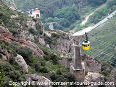 The Aeri de Montserrat Cable Car