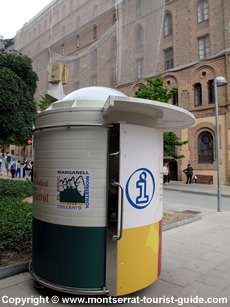Tourist Information Kiosk in Montserrat