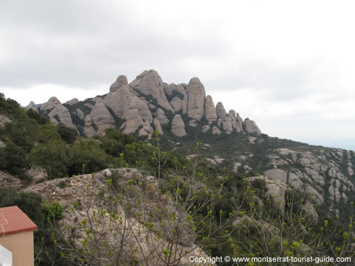 Views of the Mountain on the Sant Joan walk