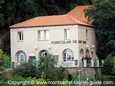Sant Joan Funicular Station Building
