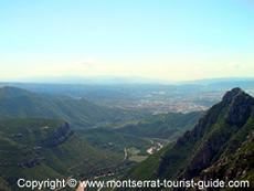 The View from Montserrat Mountain